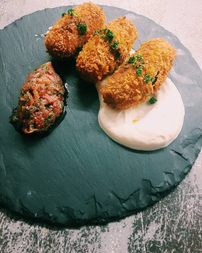 Our chorizo croquettes are the tastiest around they come withhellip