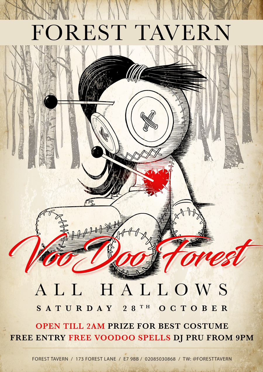 All Hallows - Voodoo Forest