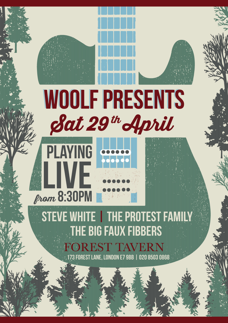 """""""Woolf Presents"""" Live Music"""